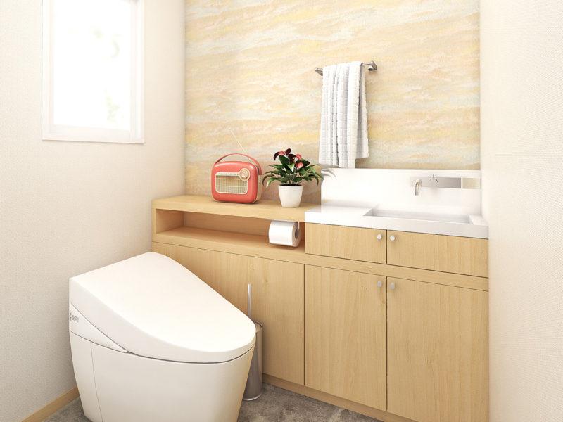 トイレのイメージCG